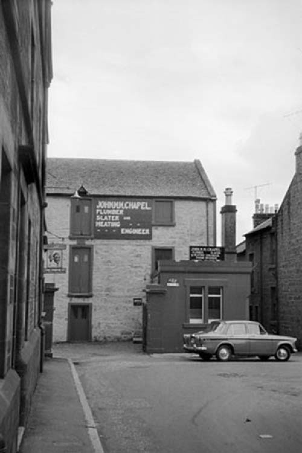 The Ayr Brewery in the 1960s. © John Hume, 2015