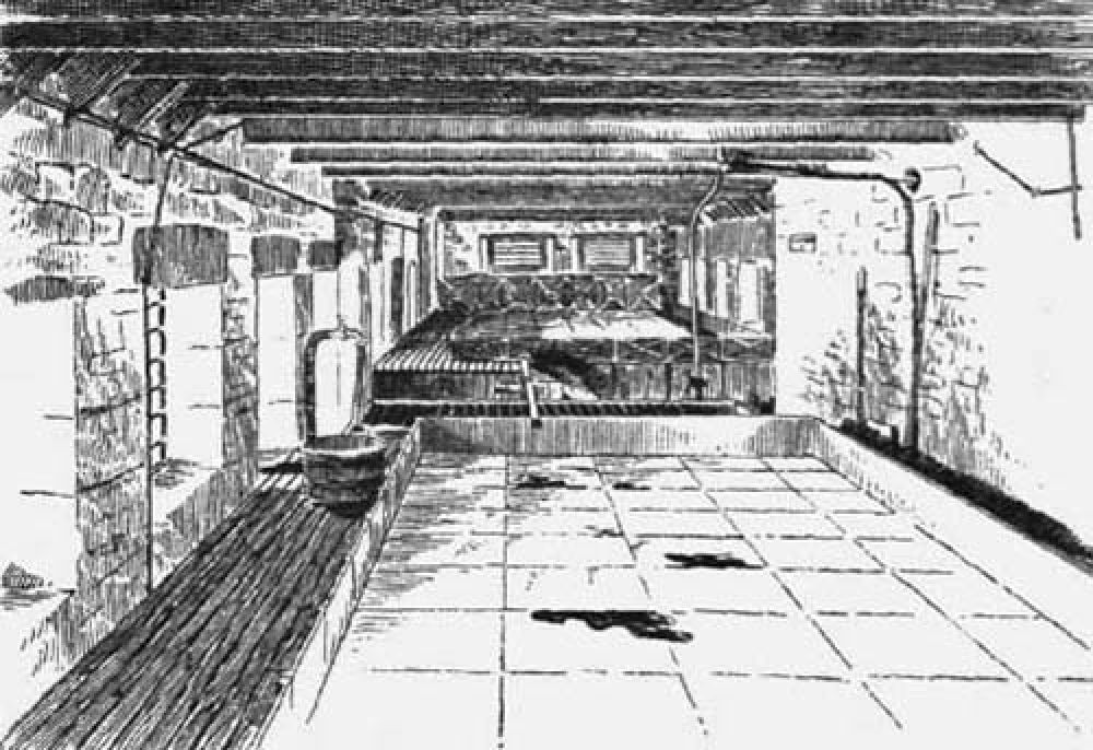 The cooling room of the Blackford Brewery