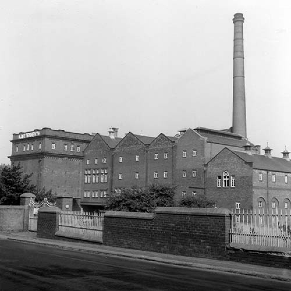 A view of the Castle Brewery in the 1960s. © John Hume, 2015