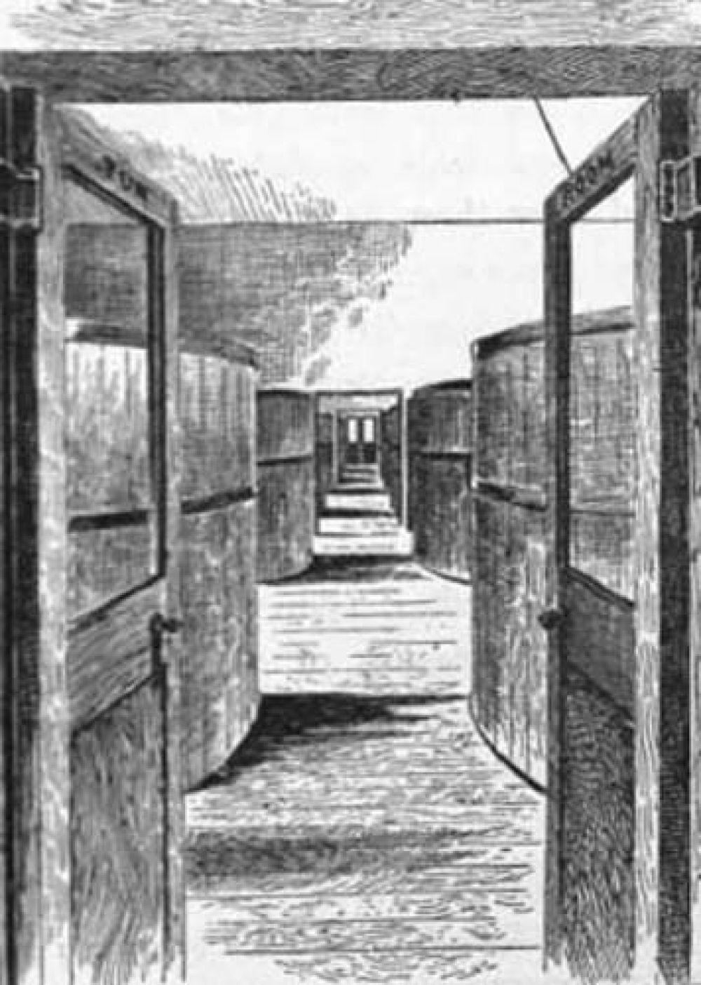 The tun room at the new Edinburgh Brewery