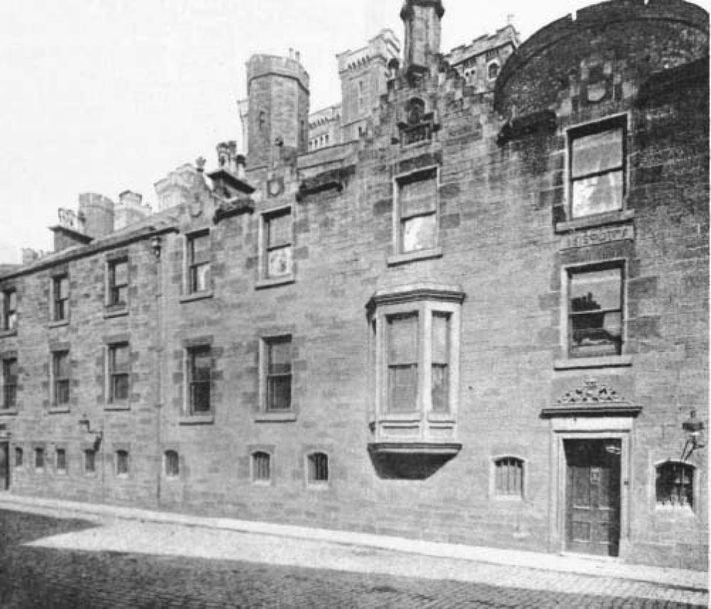 The offices at the old Edinburgh Brewery