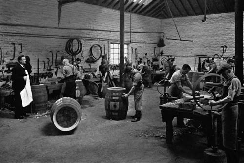The cooperage in 1940.