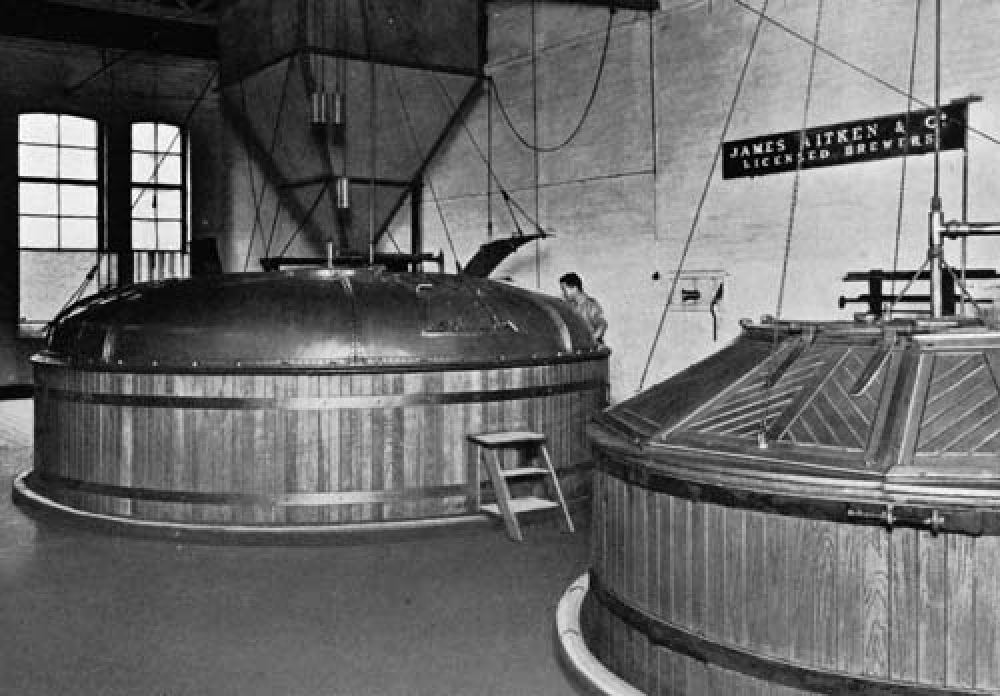 The mash room in 1740.