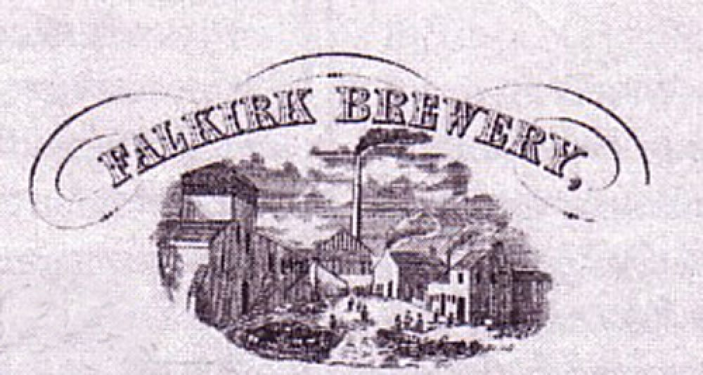 The brewery in the 1880s.