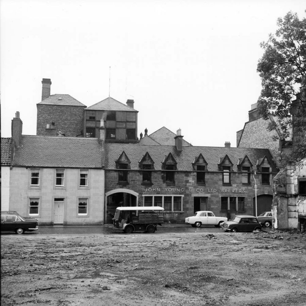 The Ladywell Brewery seen from the south in the 1960s. © John Hume, 2017