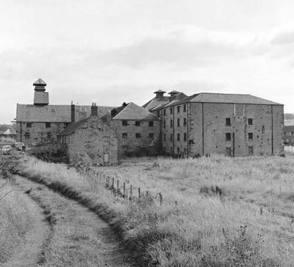 The maltings from the west in the 1960s. © John Hume, 2016.