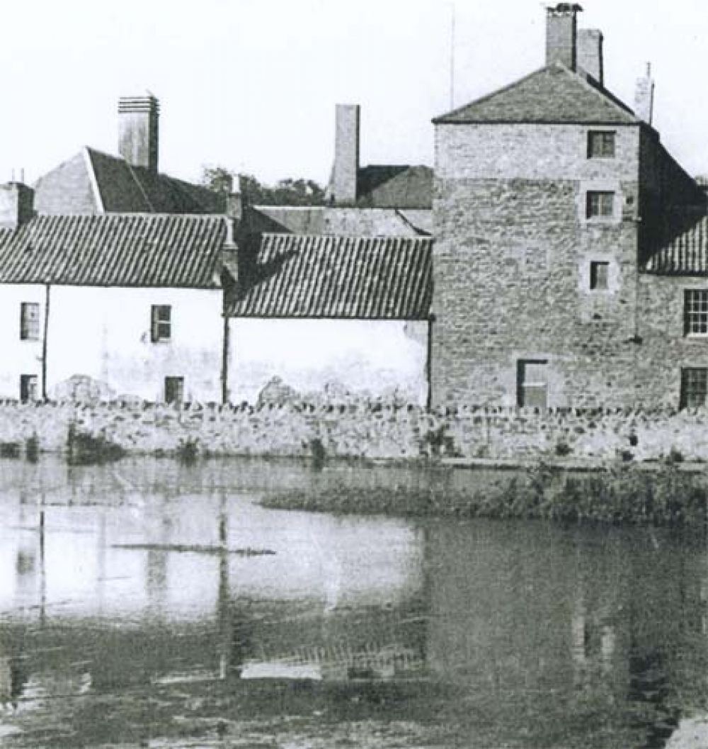 The Nungate Brewery (white buildings on the left) looking across the Tyne.