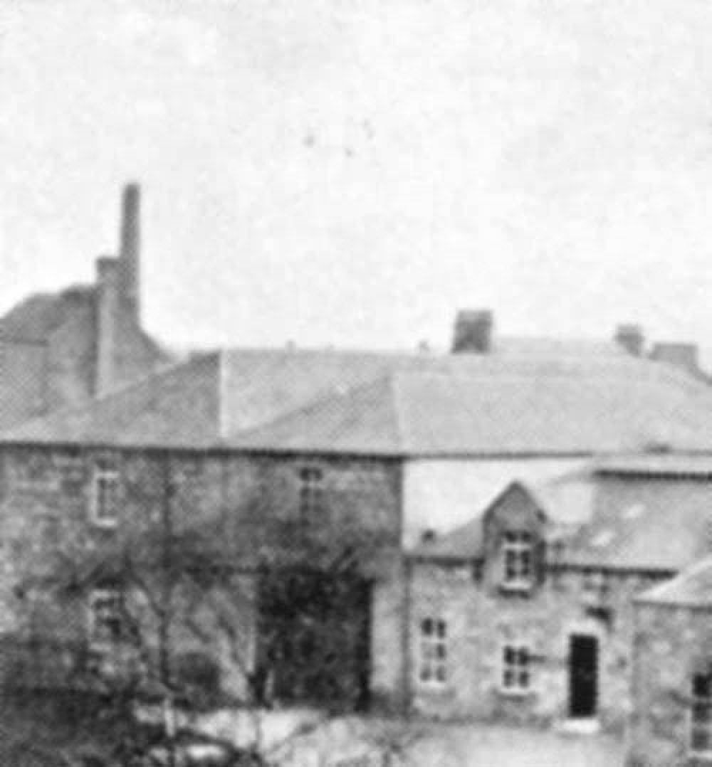 The St Ninian's Well Brewery is the building with the chimney in the left background. © Forbes Gibb, 2016