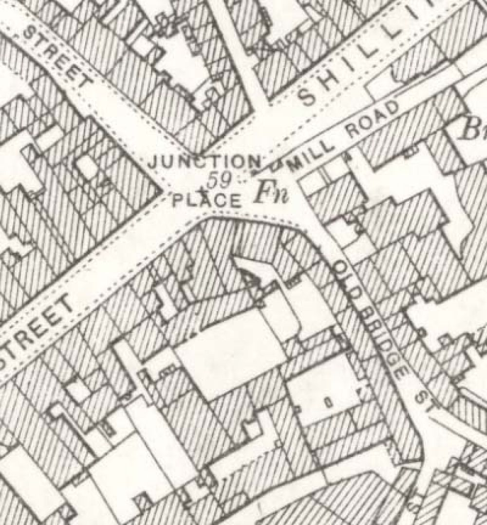 Map of 1899 showing the Thistle Brewery. © National Library of Scotland, 2015.