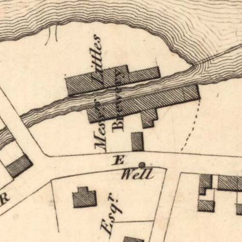 Map of 1826 showing the Annan Brewery