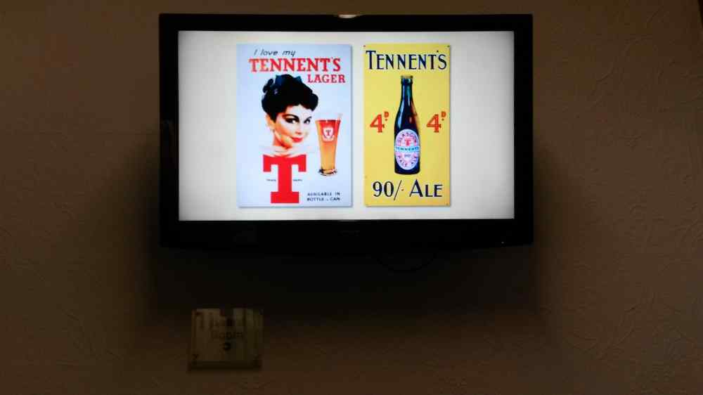 A slide show of advertising artefacts
