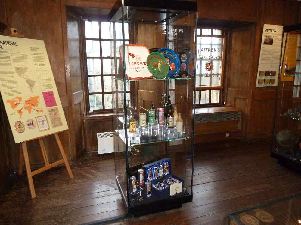 "Part of the 'Raise your glass!"" exhibition"